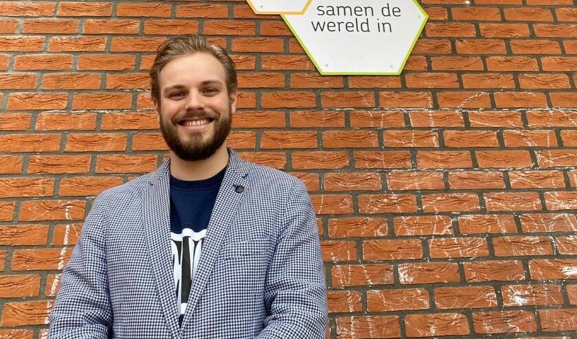"""<p>""""Wij zijn een kleine school, waarbij wij werken vanuit de kracht van de leerkracht"""", zegt schooldirecteur Joeri Baartscheer. Foto: Roberto Cancian</p>"""