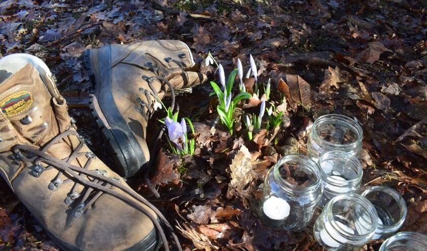 <p>Iedere zaterdag tot aan Pasen, organiseert de Agnus Deikerk een wandeling waarbij de deelnemers met elkaar in gesprek gaan.</p>