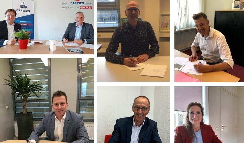 <p>Directie van Baetsen-Remondis en de wethouders van de Kempengemeenten leggen de samenwerking voor de komende 7 jaar vast.&nbsp;</p>