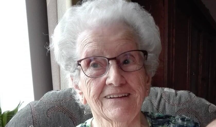<p>Maria van Dalen wordt 20 februari 100 jaar.</p>