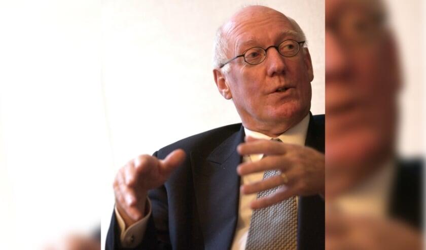 <p>Jan Mans, oud-burgemeester van Enschede.</p>