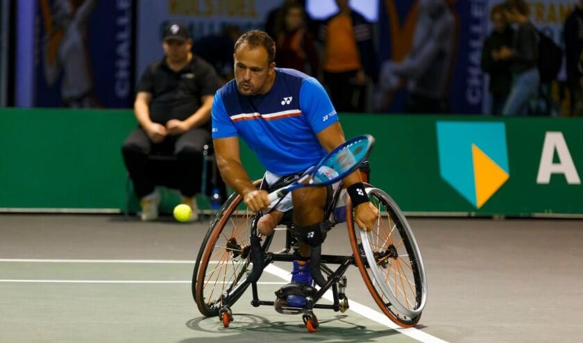 <p>Tom Egberink is de hoogst geplaatste Nederlander in het wheelchair toernooi. (Foto: www.tennisimages.com/Alyssa van Heyst)</p>
