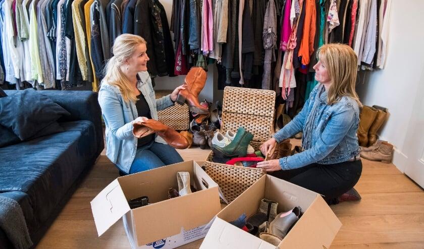 <p>Opruimcoach Marianne Bodenstaff biedt hulp. Fotograaf: Josje Deekens </p>
