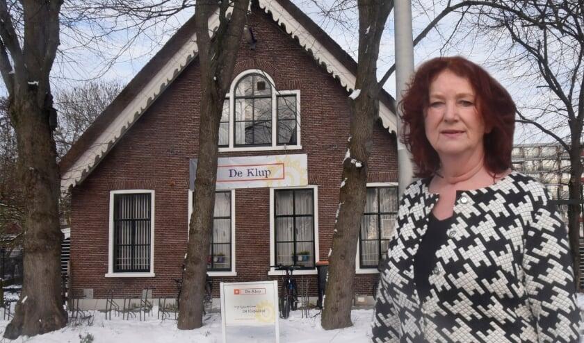 <p>Jolanda de Ruiter, directeur van de Klup, luidt de noodklok voor het voortbestaan van De Klup. Foto: Marianka Peters</p>