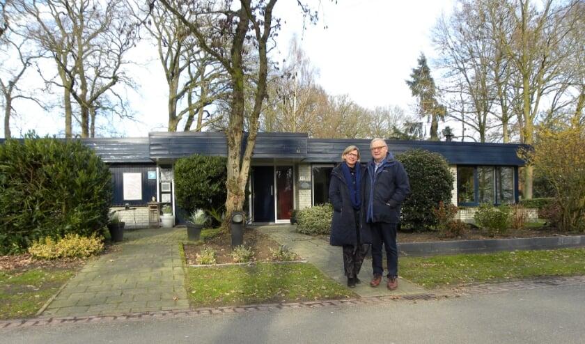 <p>De familie Berends van de Klaas de Rookstrtaat 47 hadden een prikpost naast de deur. (Foto: Barbara van der Woning)</p><p><br></p>