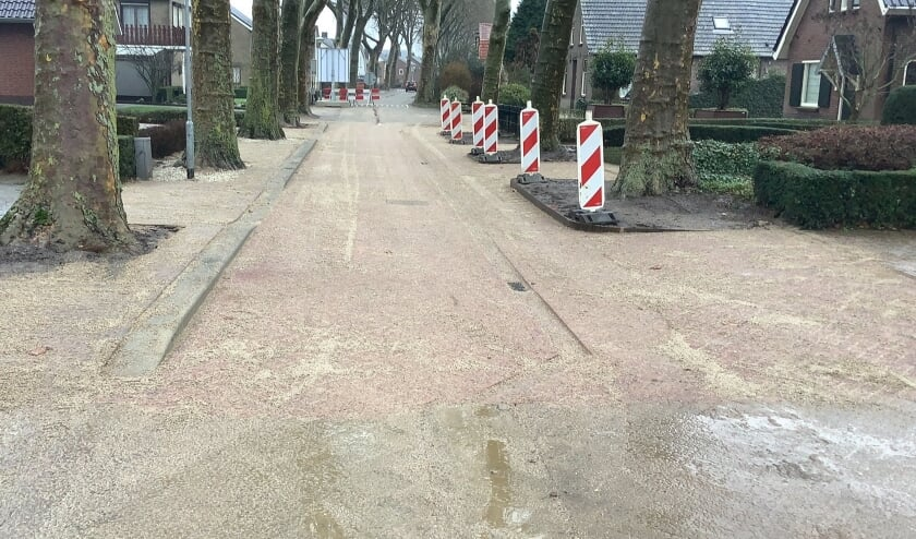 <p>Er is een test gestart met een mogelijke inrichting van de openbare weg.</p>