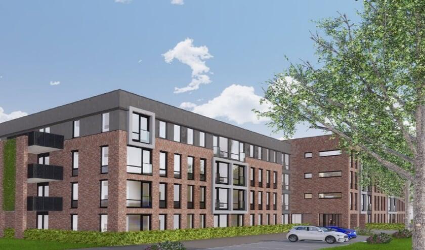 <p>Het ontwerp telt ruim tachtig moderne appartementen, meerdere algemene ruimten en een grote tuin. </p>