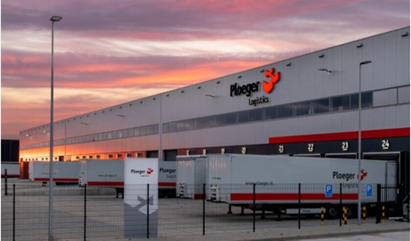 Het BREEAM Outstanding warehouse van Ploeger