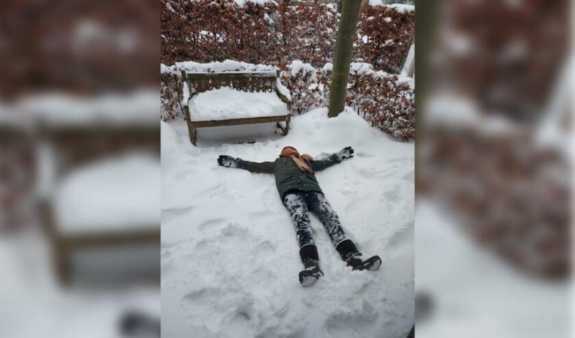 Ook maandag nog volop sneeuwpret!