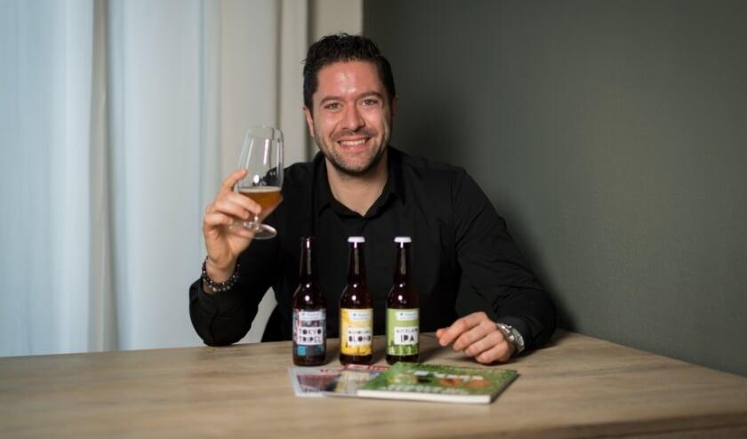 """<p>T.J. van Apeldoorn: """"Ik wil niet zeggen dat ik een bierkenner ben, maar in ieder geval wel een liefhebber.""""</p>"""