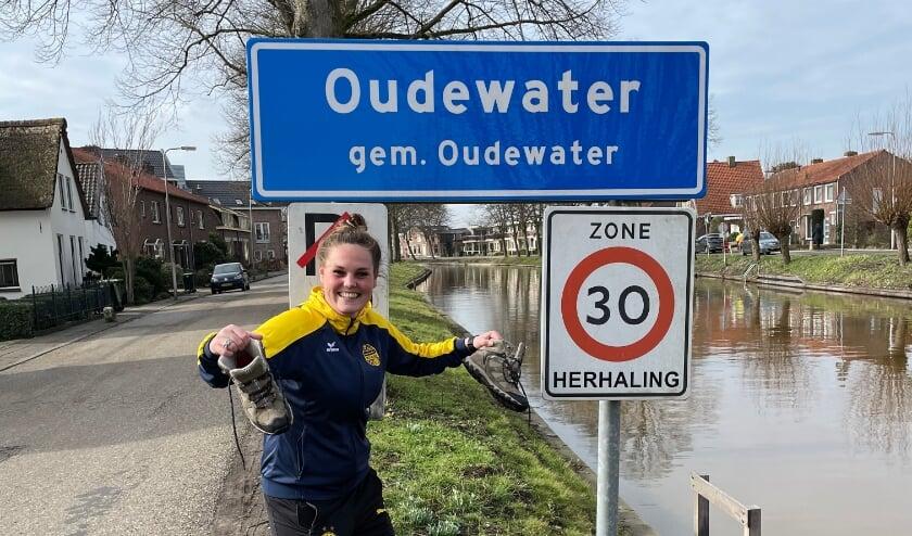 <p>Buurtsportcoach Demi Sweep heeft er al veel zin in om heel Oudewater aan de ommetjes te krijgen. ''En in maart gaan wij zelfs de uitdaging aan met Montfoort!''&nbsp; Foto: Oudewater Vitaal</p>