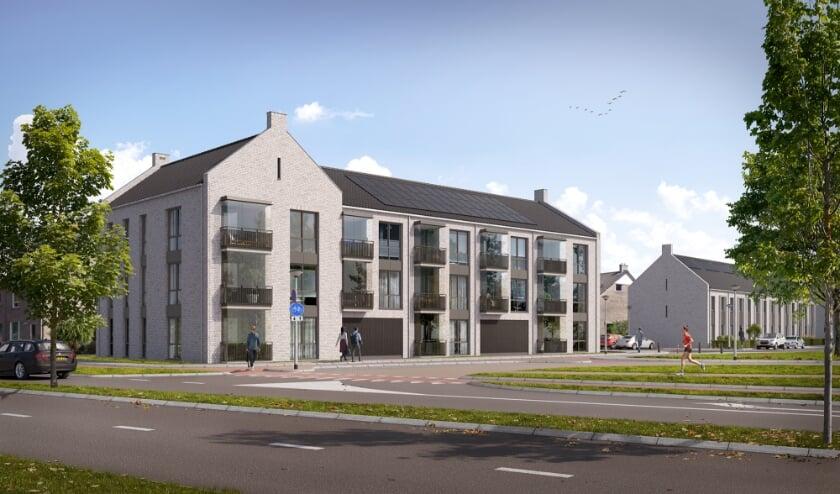 <p>Nieuwe woningen aan de noordzijde van de Vondelvijver.&nbsp;</p>