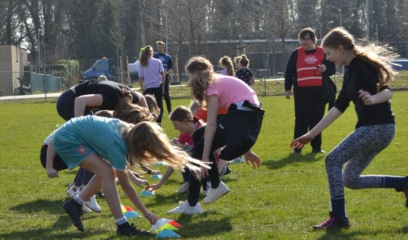 <p>Sportende kinderen</p>