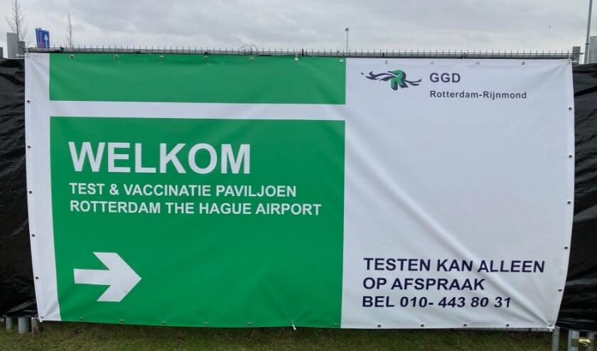 Prik- en testlocatie vliegveld Zestienhoven