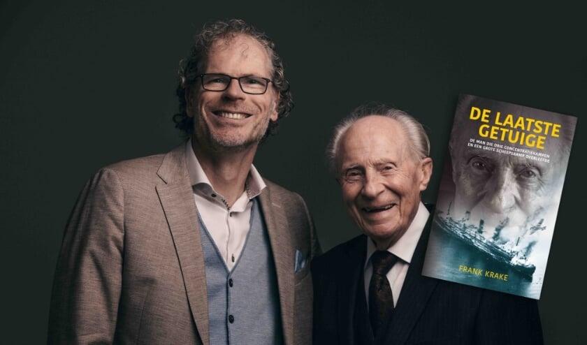 <p>Frank Krake en Wim Aloserij. (Eigen foto)</p>