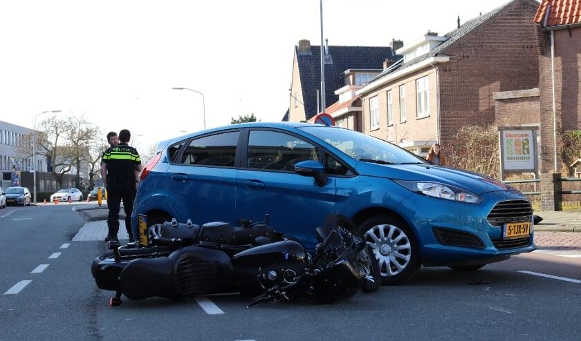 Ongeval op de Prinses Beatrixlaan in Tiel