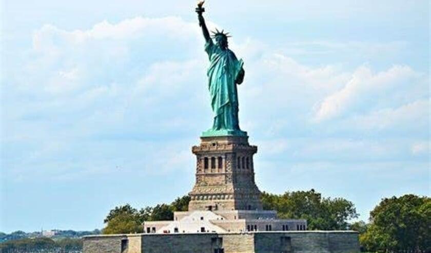 <p>Het Vrijheidsbeeld in New York, al bijna anderhalve eeuw wereldwijd het symbool van vrijheid en een nieuwe wereld.</p>