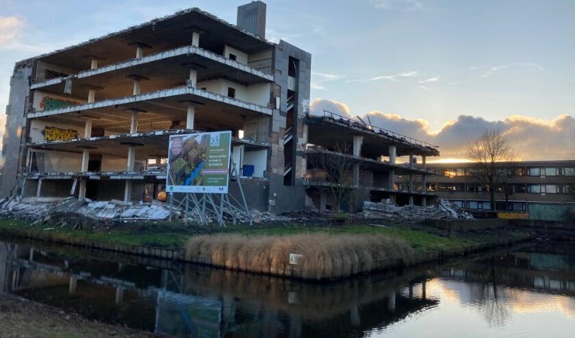 <p>FNV gebouw wordt gesloopt voor bouw van honderden woningen.</p>