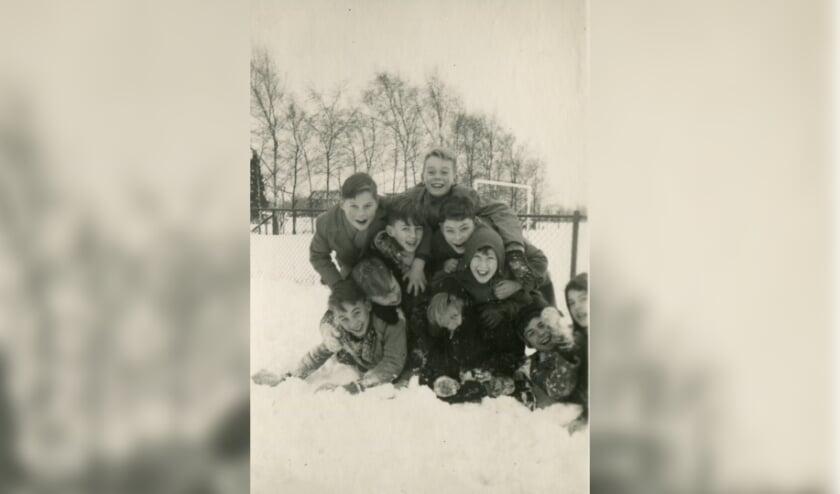 <p>Sneeuwvertier in vroegere tijden.&nbsp;</p>