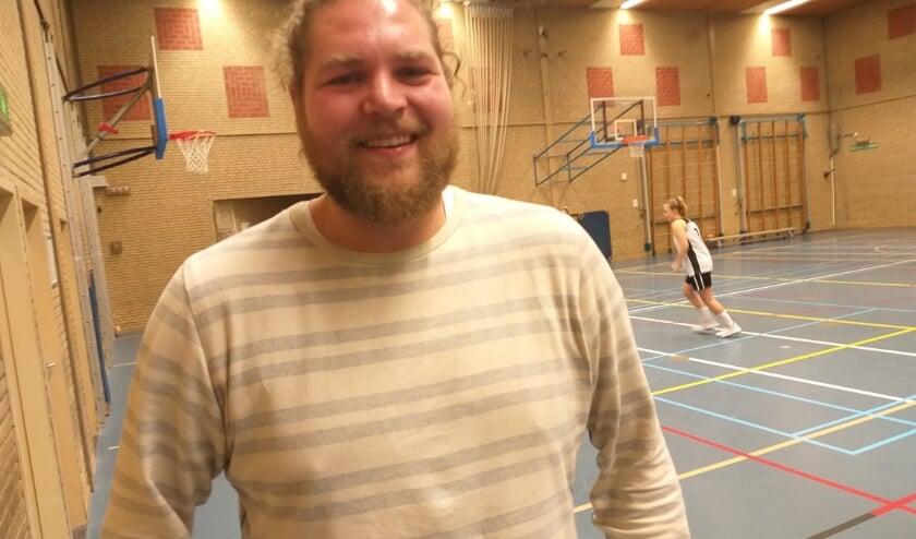 Coach en speler Kevin Joukes zag zijn seizoen in duigen vallen door corona