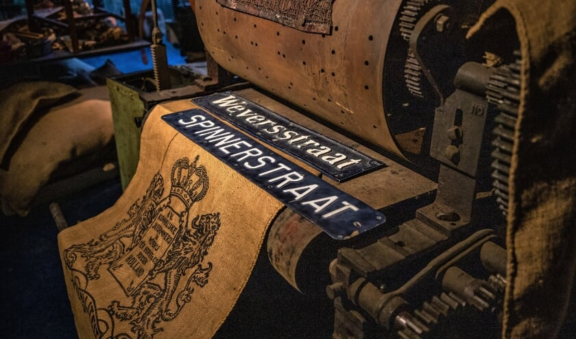 <p>In de industriekelder van het Rijssens Museum is voluit aandacht voor de jute-industrie van Ter Horst. (Foto: Irene Dangremond)</p>
