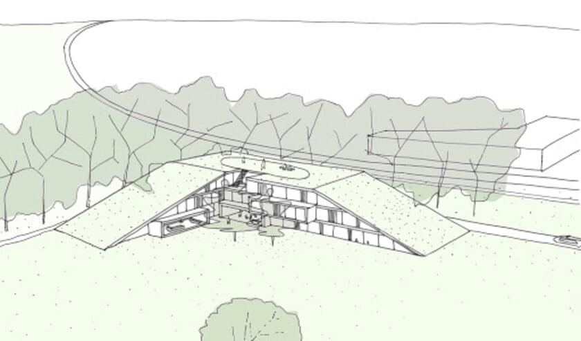 <p>&quot;Een UNESCO-proof ontwerp van het nieuwe Ronald McDonald Huis.&quot; Beeld: Ronald McDonald Kinderfonds&nbsp;</p>