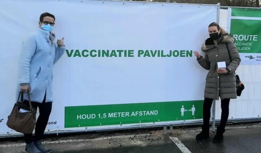 Sinds 8 januari wordt er gevaccineerd bij Rotterdam The Hague Airport.