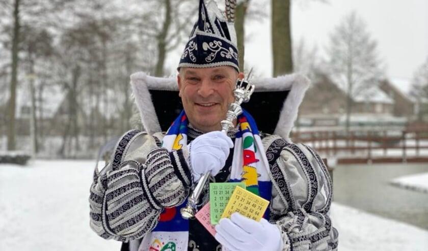 <p>Corona of geen corona, sneeuw of geen sneeuw, Prins Marco van De Dolbotters heeft al bingokaarten gescoord.</p>