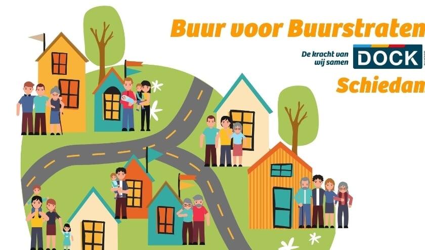 <p>De Buur voor Buur campagne is bedoeld om bewoners te stimuleren meer betrokken te zijn bij hun directe omgeving. (Foto: Priv&eacute;)</p>