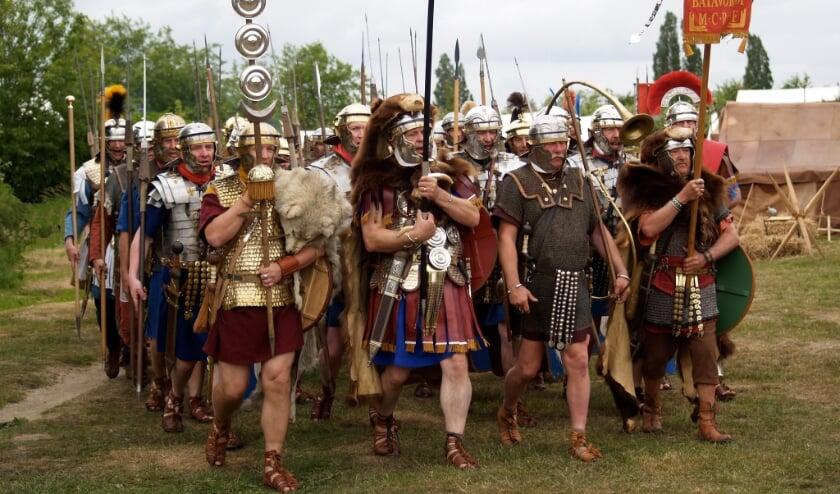 <p>&nbsp;Romeins legioen.&nbsp;</p>