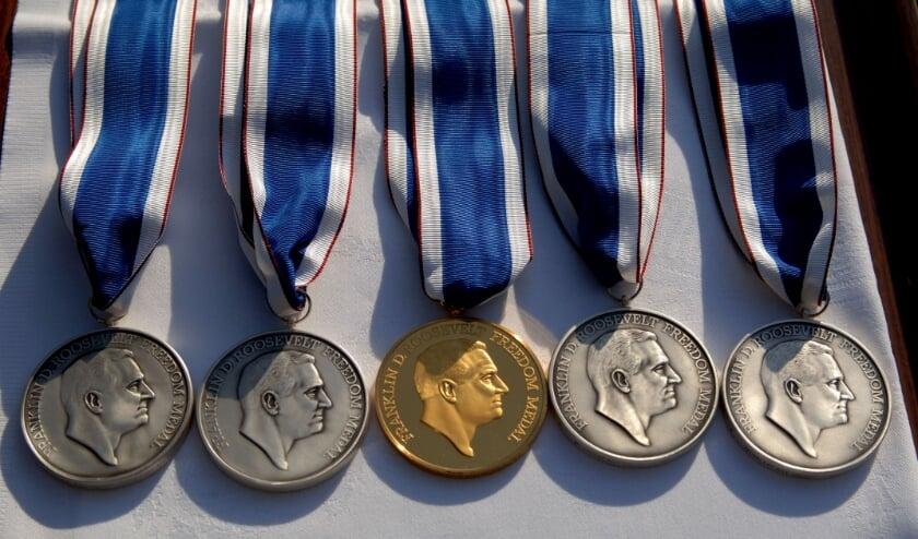 De Four Freedoms medailles