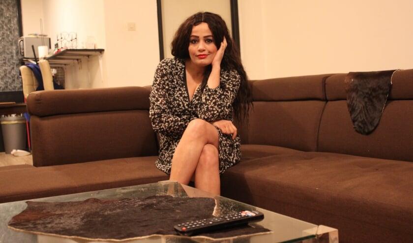 """<p>Somaya Al-Sayani: """"Ik vocht en vecht voor mijn mensenrechten, voor mijn vrijheid van meningsuiting.""""&nbsp;</p>"""