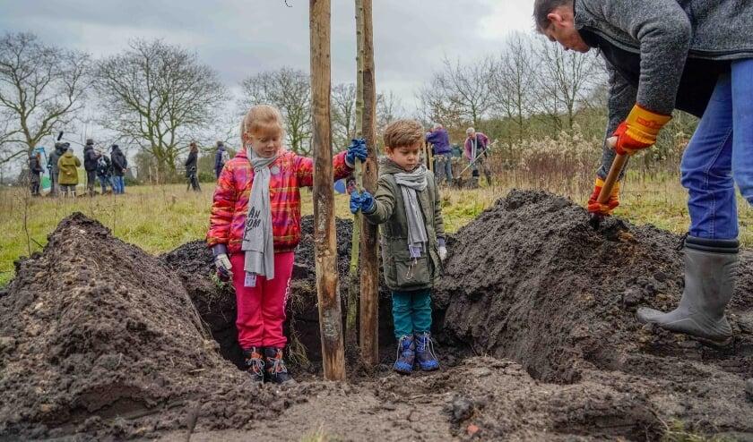 <p>Plan Boom Utrecht deelt met steun van provincie Utrecht 10.000 gratis boompjes uit aan inwoners. Foto: Plan Boom, Jack Tillmanns</p>