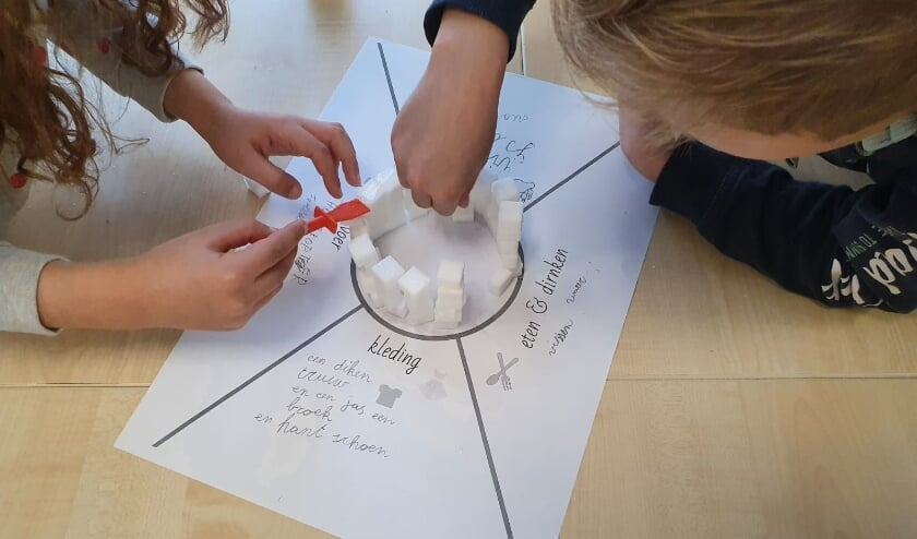 <p>Kinderen aan het werk&nbsp; bij basisschool Balans.</p>