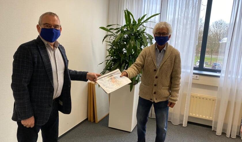 <p>Bert Kuster en Andr&eacute; van der Ley.</p>
