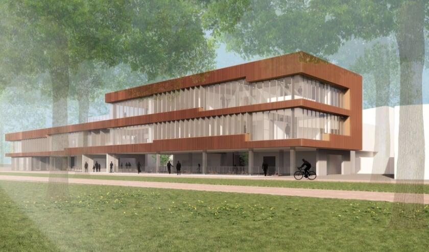 <p>Impressie van het nieuw te bouwen Ringgebouw.</p>