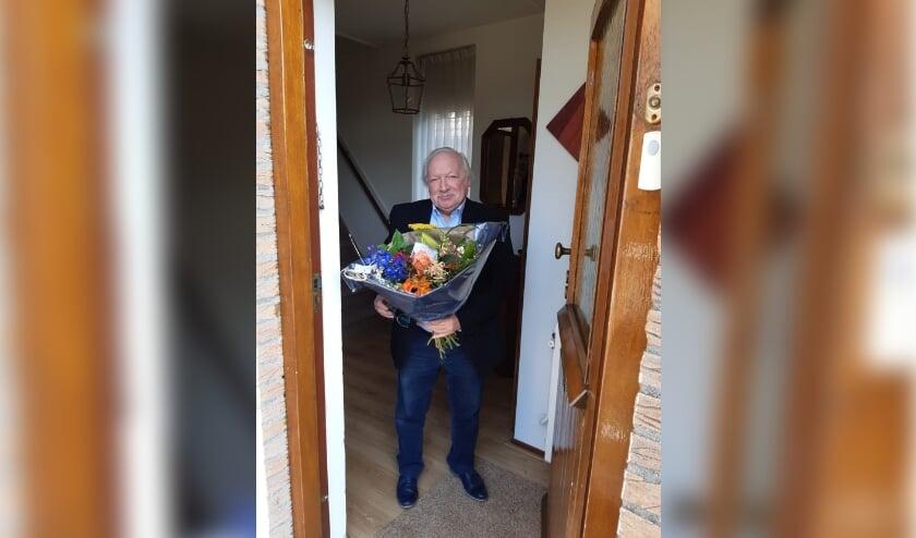<p>De Adviesraad heeft op woensdag 24 maart afscheid genomen van Ben de Klerk. Bij een afscheid hoort natuurlijk een mooie bos bloemen.</p>