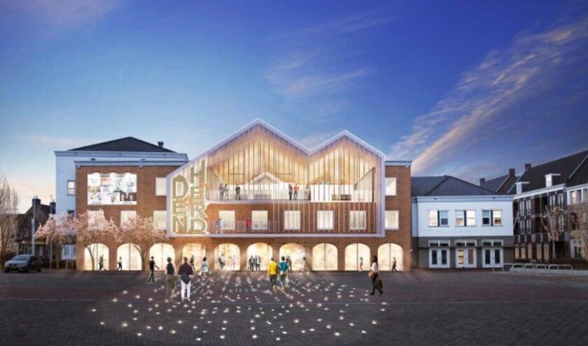 <p>Het Stichtingsbestuur van Den Herd en het college van B&W zijn enthousiast over het voorlopig ontwerp van het nieuwe gemeenschapshuis aan de Markt van architectenbureau GROUP A. </p>
