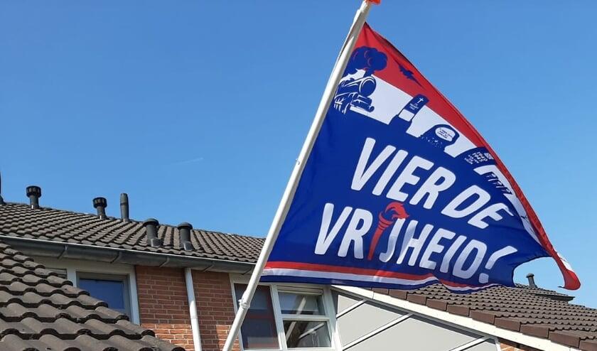 <p>Stichting Vier de Vrijheid vraagt inwoners om elk jaar begin april te vlaggen met de speciale bevrijdingsvlag.&nbsp;</p>