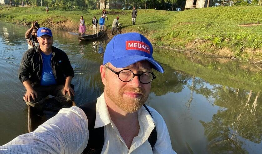 <p>Oldebroeker Adriaan Korevaar is in Honduras actief voor de in Nunspeet gevestigde hulporganisatie Medair.</p>