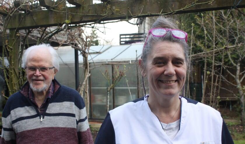 Esther van den Eventuin en Johan Meijer kunnen het prima met elkaar vinden. (Foto: Rob Weekers).