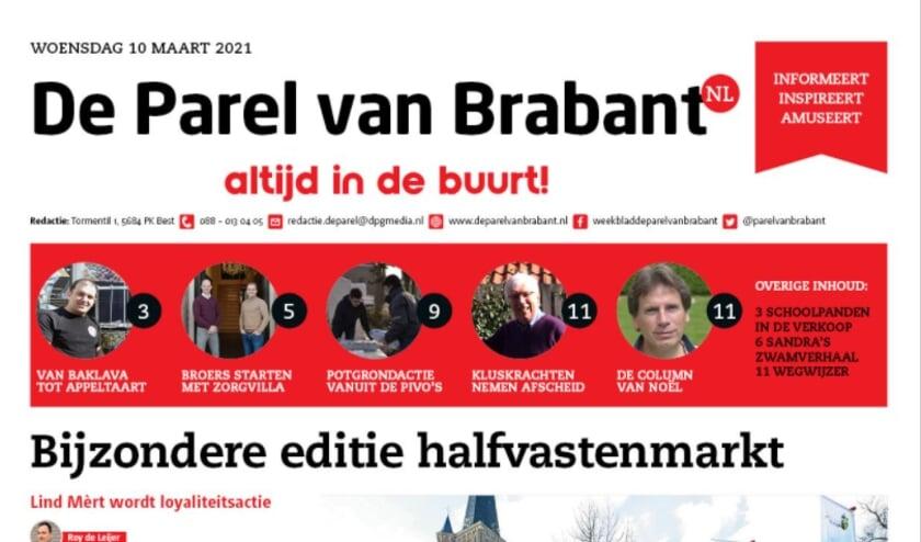 <p>De laatste uitgave verschijnt op woensdag 31 maart. Wij bedanken alle trouwe lezers van de Parel van Brabant. Namens de redactie.</p>