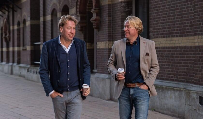 <p>Stephen en Viktor Steijger.</p>