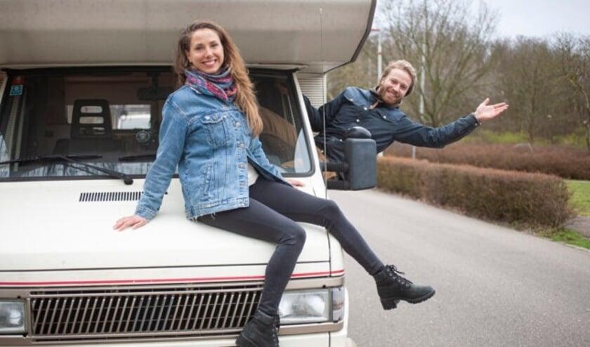 <p>Emma en Quirijn laten baan en huis achter zich om een grote reis in een oude camper te maken.&nbsp;</p>