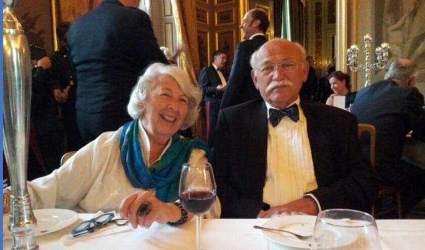 <p>Annotte Blok en Jonkheer Robert Goldman. FOTO: Mirthe Goldman.</p>