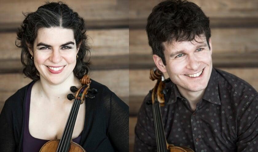 <p>Sarah Kapustin en Roeland Jagers. (Foto: Foppe Schut)</p>