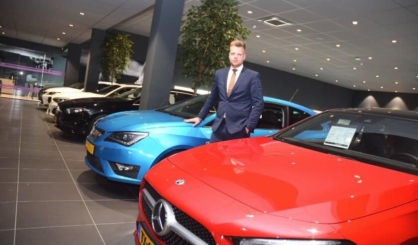 <p>Vestigingsdirecteur Menno Pel van het gloednieuwe Mega Occasion Centrum Utrecht. Foto: PR</p>
