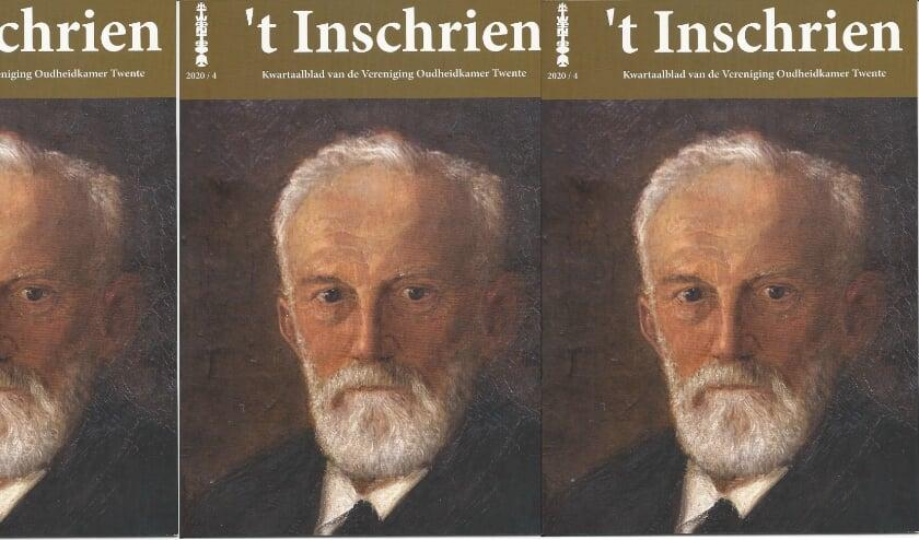 <p>De Oudheidkamer Twente erkent de verdiensten van Hattink getuige het prachtige artikel in &#39;t Inschrien. Op de omslag prijkt zijn portret.</p>