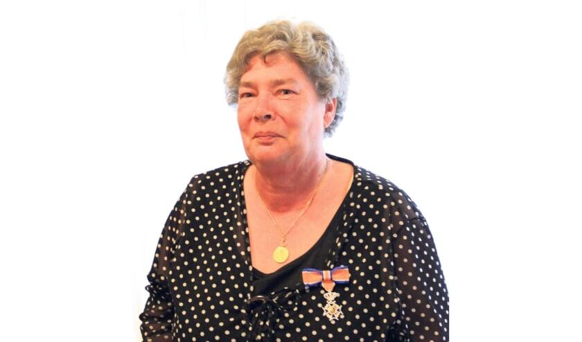 <p>Hetty Vermeer-Ernste kreeg in 2013 een koninklijke onderscheiding.</p>