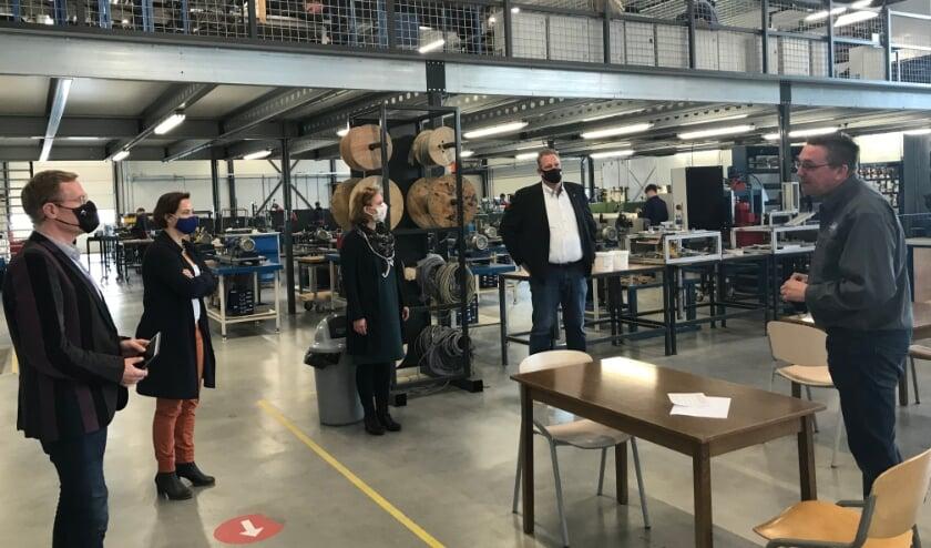 <p>vlnr Willem Buunk, Judith Tielen, Caroline Termaat (8RHK ambassadeurs) en Mike Broekhuizen</p>